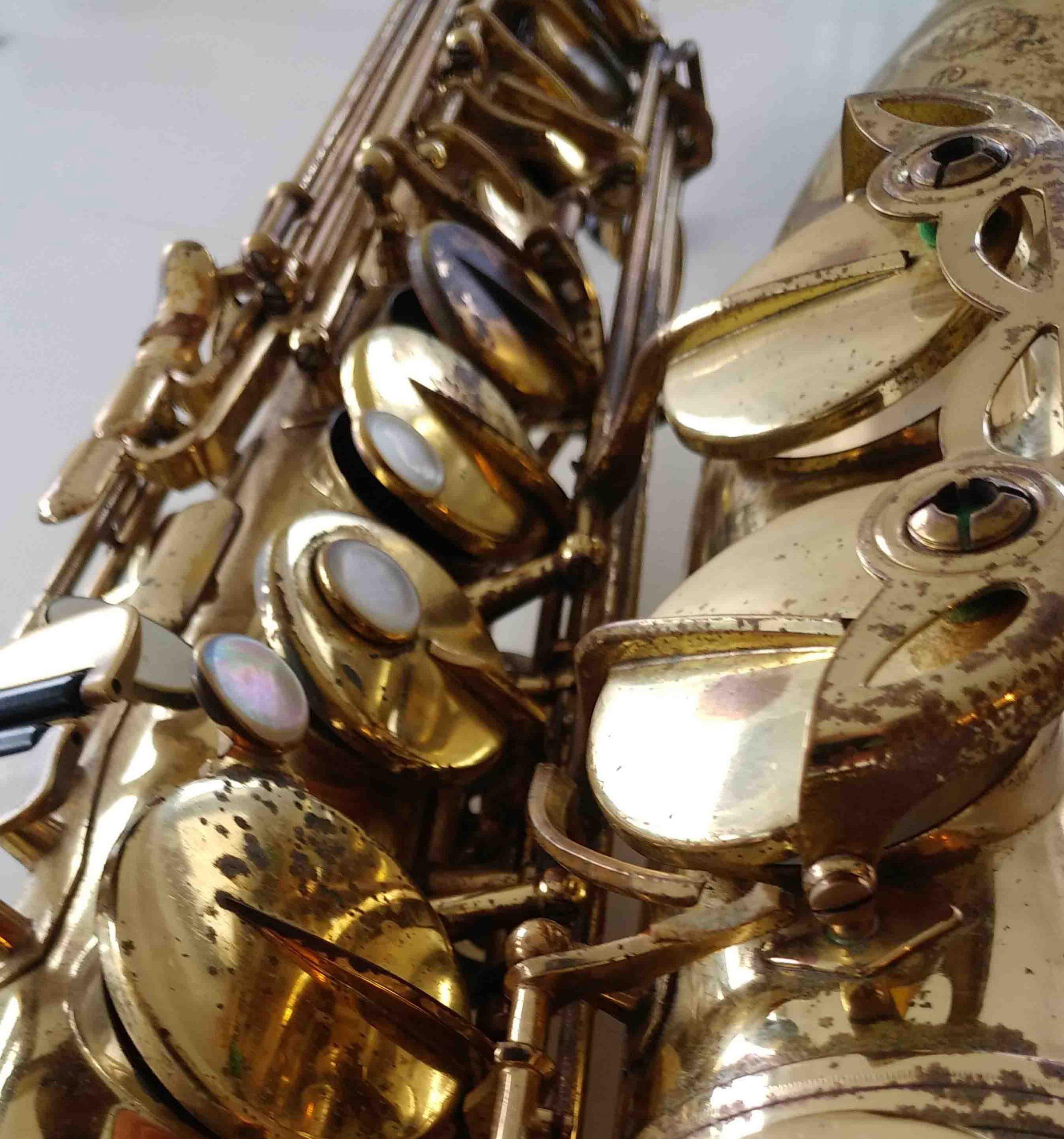 Saxophone Fingering Chart