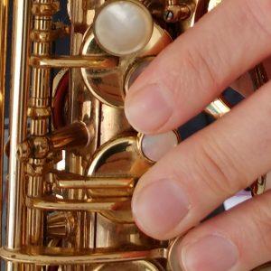 Saxophone Finger Slurs